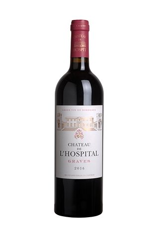 Chateau de L'Hospital 2016 Graves Rouge Bordeaux 13.5%